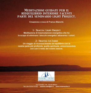 LIGHT PROJECT CD ITAL